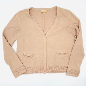 Barefoot Dreams Cozychic Tipped Cardigan
